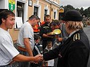 Soutěž v požárním útoku O pohár obce Kunratice je zde tradicí.