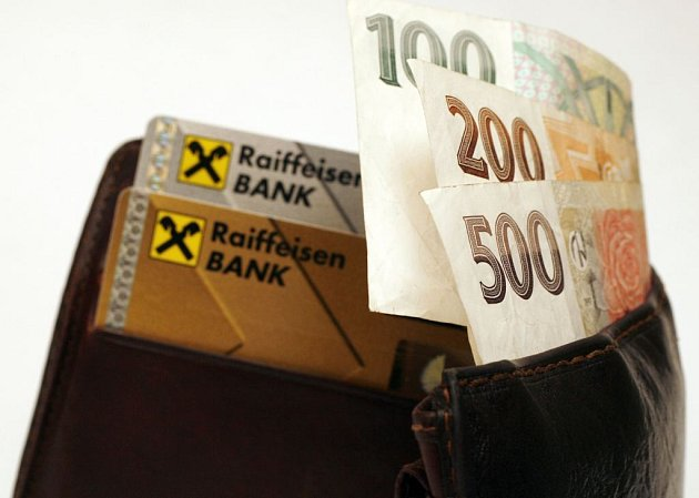 Peněženka - ilustrační foto