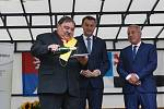 Vyhlášení vesnice roku libereckého kraje 2019 a předání cen ve Svojkově.  Hlavním vítězem se stala vesnice Svojkov na Českolipsku.