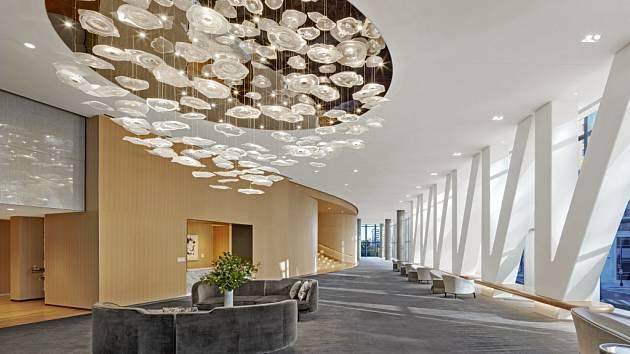 Preciosa Lighting rozzářila hotel Conrad ve Washingtonu.