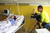 Epizoda ze seriálu pro devadesátimilionový národ vznikala i v českolipské nemocnici.