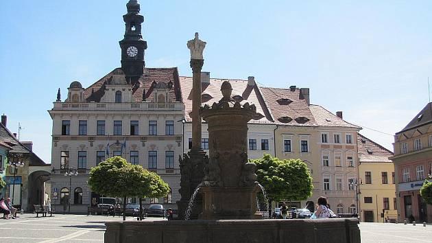 Náměstí T. G. Masaryka v České Lípě.