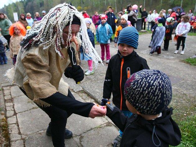 Čarodějnice v Jablonném v Podještědí.