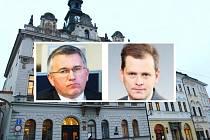 Juraj Raninec a Jan Schwippel se znovu sešli, pikantní je, že zrovna na radnici v České Lípě.