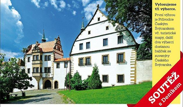 Na hlavního výherce čeká velký Průvodce Českým Švýcarskem včetně nejnovější turistické mapy.