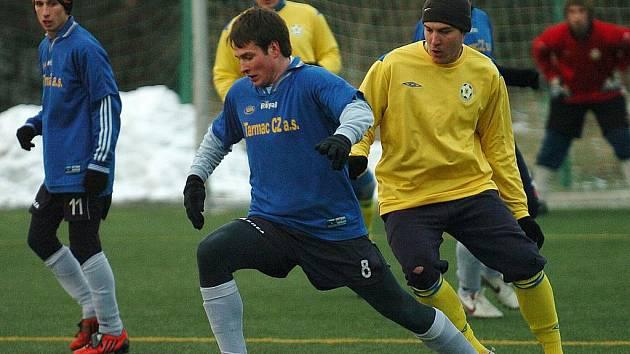 Účastník Krajského přeboru, FK Cvikov, vyzval k další přípravné zkoušce na jarní soutěž  lídra I. A třídy z Doks.