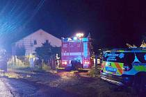 Čtyři jednotky hasičů vyjížděly v sobotu před jednou hodinou ranní k požáru v rodinném domě v Bohaticích.
