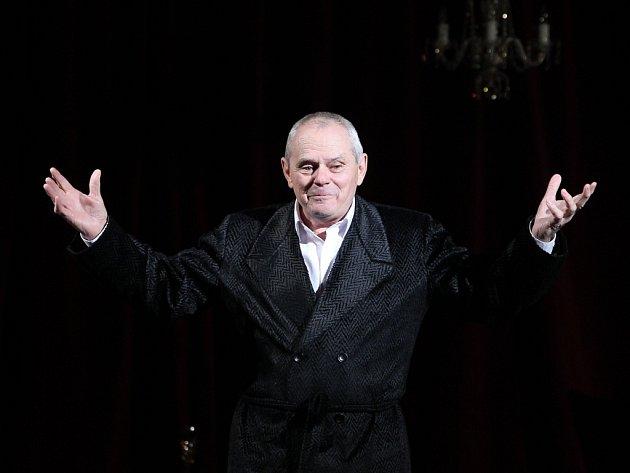 Milan Kňažko se vúterý vJiráskově divadle představil českolipskému publiku vexkluzivní premiéře nové hry Divadla Na Jezerce Shylock.