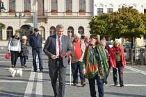 Shromáždění k připomenutí 81. výročí tzv. Mnichovské dohody.