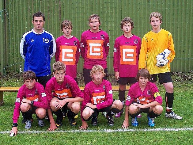 Vítězný tým Mácha Cupu - Budějovice B.
