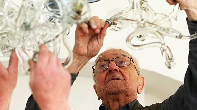 Na sympoziu nebude chybět ani tradiční účastník - výtvarník René Roubíček.