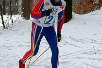 Zlatou lyži Lužických hor v Polevsku vyhrál již poněkolikáté  domácí běžkař Jan Doubek.