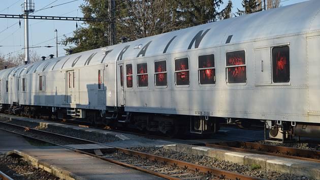 Protidrogový vlak. Ilustrační fotografie.