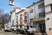 V českolipském hotelu Merkur se natáčely scény do filmu Hořící keř.