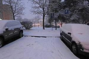 Auto zmizelo z Brněnské ulici na českolipském sídlišti Špičák.