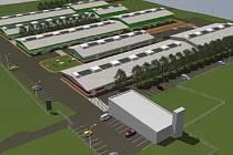 Areál bývalého kravína v Dobranově by se v budoucnu mohl proměnit v moderní průmyslové centrum.