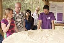 Exkurze s geologem Dominik Rubášem.
