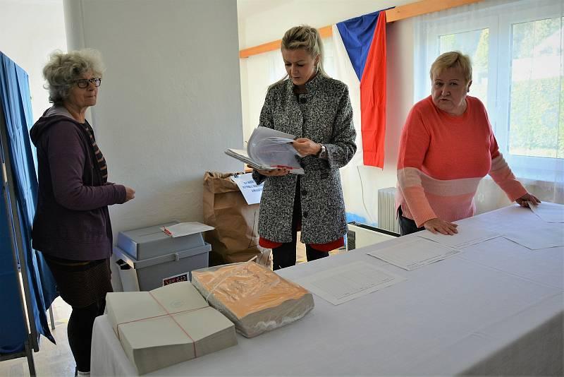 Voliči na Českolipsku někde tvořili i fronty.