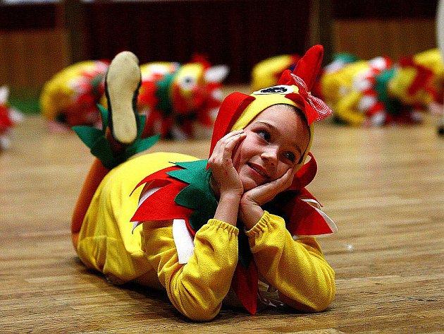 MLADÍ TANEČNÍCI obsadili na celé nedělní odpoledne českolipský Kulturní dům Crystal. Zde se sešlo na šest desítek dětských tanečních souborů z celého Libereckého kraje, aby se zúčastnily regionálního kola Festivalu tanečního mládí.