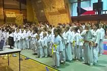 V novoborské sportovní hale se uskutečnil 1. Judo champion cup s mezinárodní účastí, pro mláďata, mladší a starší žáky a žákyně, který pořádal SK Judo Nový Bor ve spolupráci s TJ Lokomotiva Česká Lípa, oddíl judo.