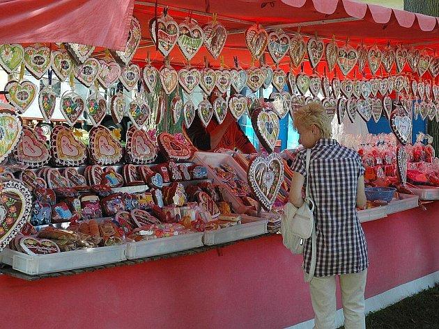 Zahrádecké slavnosti se každoročně těší vysoké návštěvnosti.