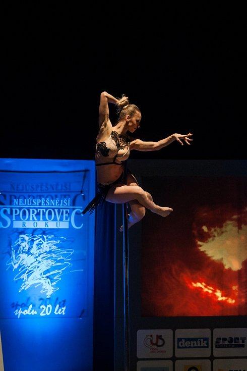 Podívaná nejen pro pány. Akrobatický pool dance.