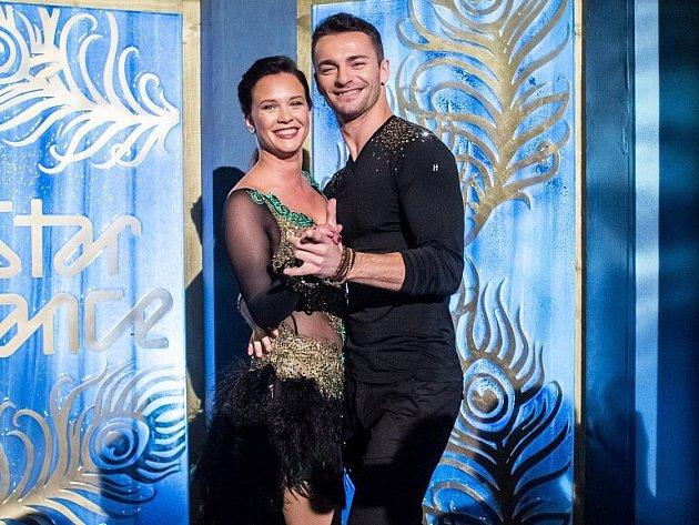Vposlední řadě StarDance tančila iherečka Kristýna Leichtová.