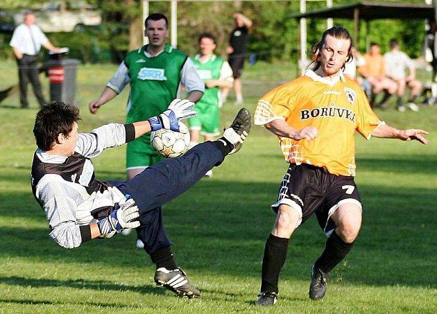 Fotbalisté Bukovan remizovali s Heřmanicemi.