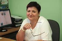 Dana Kroulíková ve své pracovně.