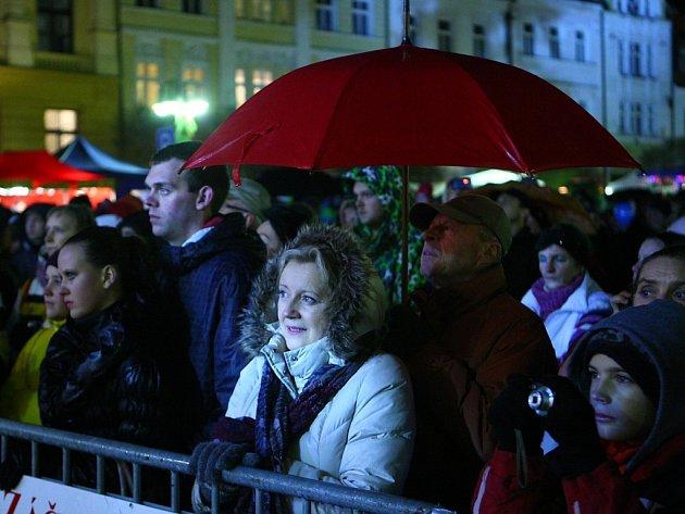 Zahájení adventu v České Lípě.