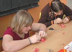 Žáci se připravují na Valentýna