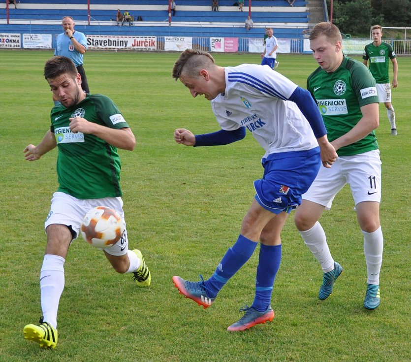Fotbalisté Doks si vyšlápl na favorizované Velké Hamry, které se pyšní postupem do divize.