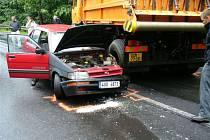 Dopravní nehoda u Nového Boru