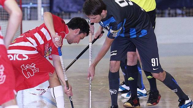 Florbal je stále populárnějším sportem. Ilustrační foto.