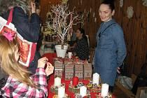 Vánoční tvořivé dílny ve Stráži pod Ralskem.