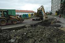 Rekonstrukce ulice Sluneční v České Lípa