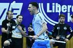 Václav Vavruška slaví branku v derby zápase proti Liberci.