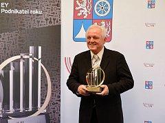 Luboš Novák, generální ředitel a majitel společnosti MEGA a.s. a EY Podnikatel roku 2015 Libereckého kraje.