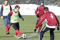 Fotbalisté Mimoně změří síly s týmem Bukovan.