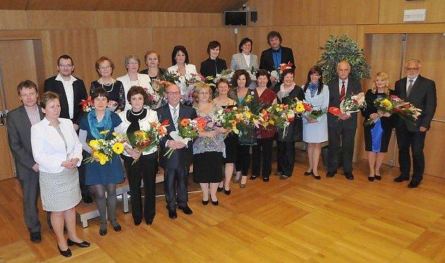 Liberecký kraj ocenil 20pedagogů.