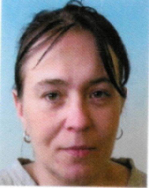 Pohřešovaná Berta Rimplerová.
