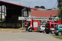 Požár byl do hodiny lokalizovaný.