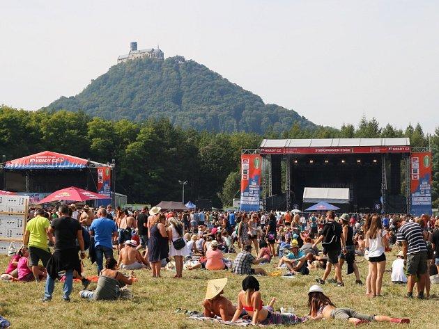 Hudební festival Hrady CZ zakončil své putování pod Bezdězem.
