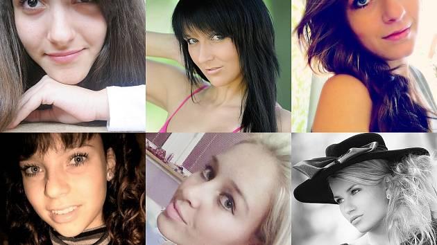 Denisa, Jana, Tereza, Veronika, Klára a Eva. Seznamte se s další šesticí uchazeček o titul Dívka Máchova jezera.