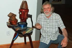 Výstava Dřevošrot Zdeňka Viléma v muzeu v Mimoni