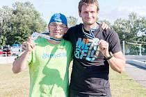 Českolipský deblkanoista Michal Šrámek získal se svým parťákem Lukášem Tomkem stříbro v týmovém závodě.