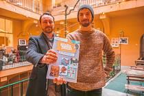 Čeští Skauti vydali svou první velkou komiksovou knihu Odvaha je volba!