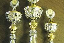 Tři poháry pro vítěze Okresní běžecké ligy 2008, které  věnuje tradičně  českolipský Deník, už čekají na své majitele.