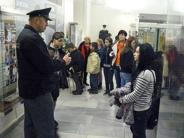 Výlet do Policejního muzea v Praze.