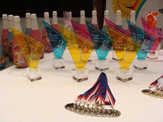 VČeské Lípě se konal další ročník taneční soutěže celostátního kola Festivalu mládí.